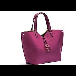 COPY - Neiman Marcus Camp Large  Leather Tote Bag